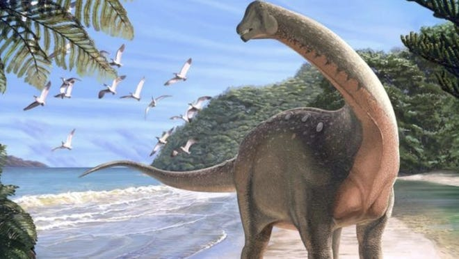 "Scientists recently discovered a new dinosaur in the Egyptian desert, ""shedding light on Africa's missing history of dinosaurs."""