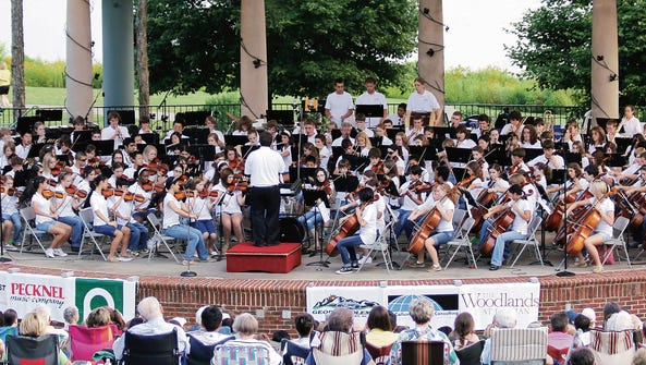 Celebrate summer with Music by the Lake, 7:30 p.m.