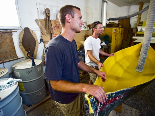 Brothers Justin and Ian Martin, who have made a name for themselves building high-quality composite boats, have taken over the Adirondack Guide Boat business on U.S. 7 in North Ferrisburgh.