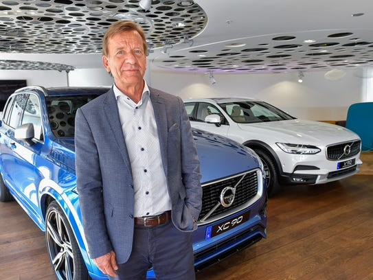 Volvo Cars CEO Hakan Samuelsson during an interview