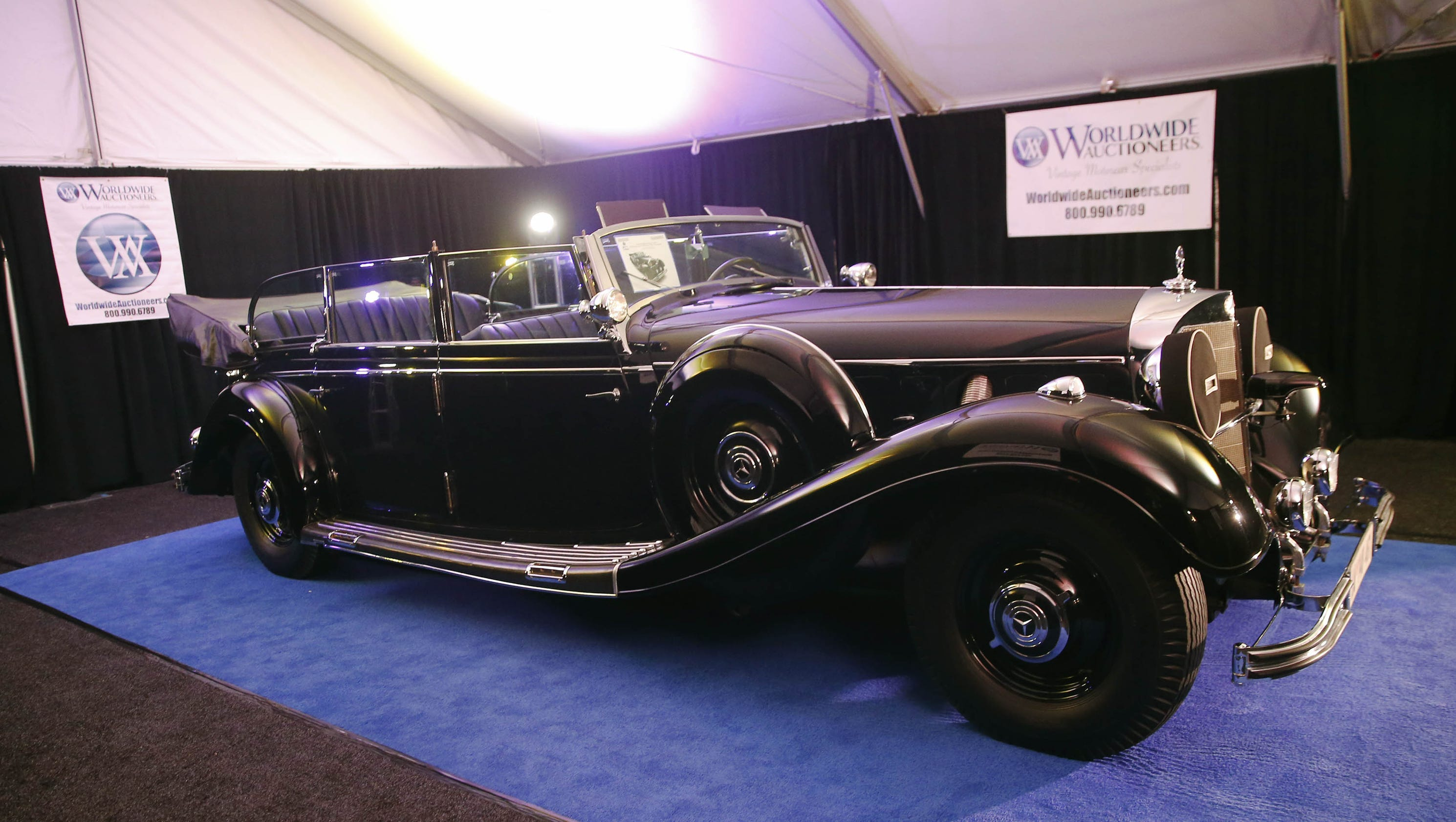 Super Mercedes\' used by Adolf Hitler auctioned in Scottsdale