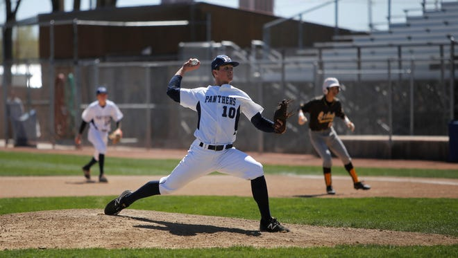 Piedra Vista's Nate Swarts fires a pitch against Cibola during Saturday's District 1-6A game at Ricketts Park. Visit daily-times.com to see the latest scores, video highlights and photo galleries.