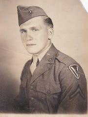 U.S. Marine Corps Pfc. Harold Schultz