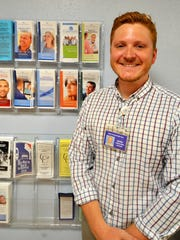 Daniel Shine is the manager for a new space at North Central Health Care in Wausau to provide inpatient care for people overcoming alcohol and drug abuse.
