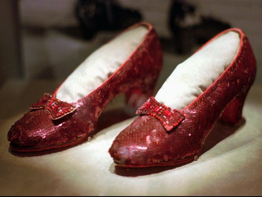 Stolen Ruby Slippers