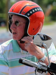 Patrick Twomey, 61, of Ocean View, loves motorcycles