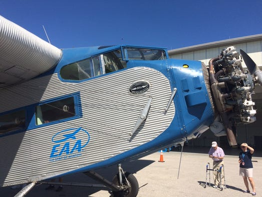 Ford Tri Motor Tour Stops In Naples