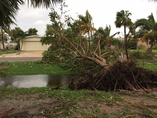 Highland Beach Florida Irma Damage