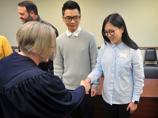 CASA Volunteers Sworn 2