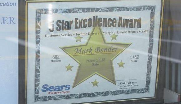 Sears Marks-award