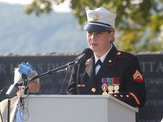 USMC Cpl. Megan Leavey did a reading at the September