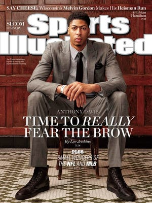 Anthony Davis made his first Sports Illustrated cover this week since his UK days.