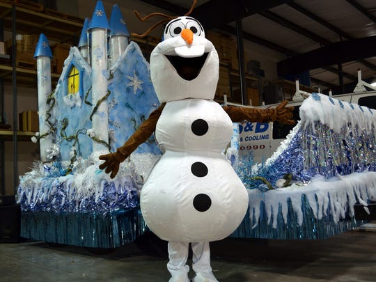 "Olaf from Disney's ""Frozen"" will be at the Christmas"