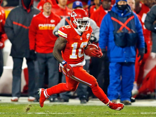 Tyreek Hill's selection by the Chiefs was highly-criticized.