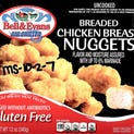 Gluten Free Chicken Products Recalled include these Chicken Nuggets, and the same branded Chicken Breast