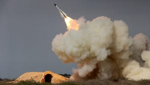 A missile test in Bushehr, Iran on Dec. 29, 2016.