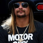 Just in time for the Iowa Caucus, Kid Rock is throwing his support behind 2016's most controversial presidential candidate.