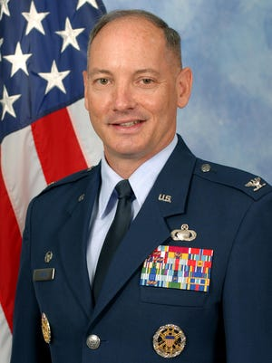 Col. Michael Downs is the commander of Goodfellow AFB in San Angelo.