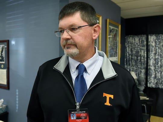 Greg Clay, principal at Horace Maynard Middle School