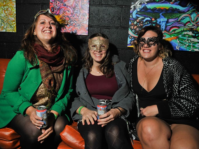 Scenes from the annual Masquerade at New Mountain,