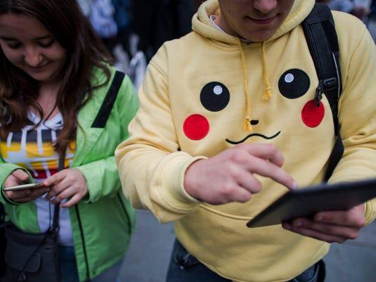 Pokemon go walk in Vienna