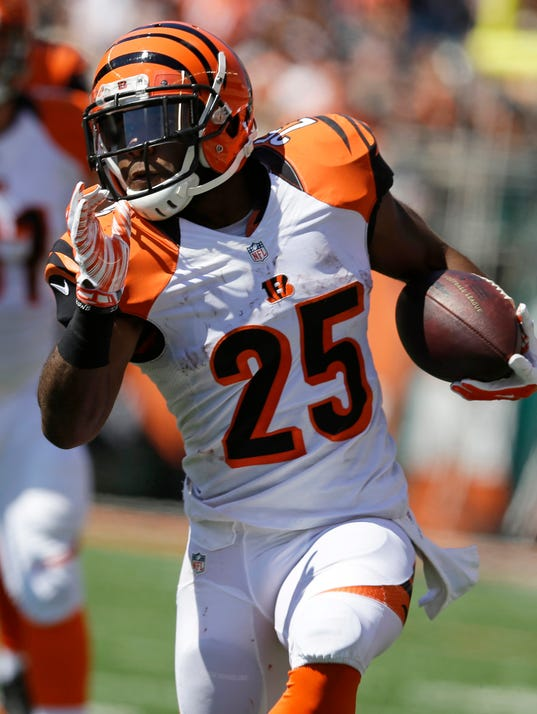Young running backs emerge as Bengals stay unbeaten