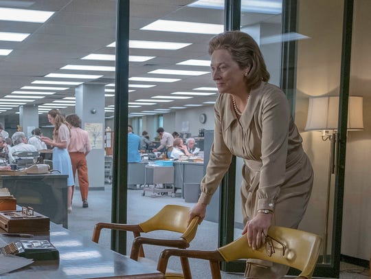 Actress: Meryl Streep, 'The Post'