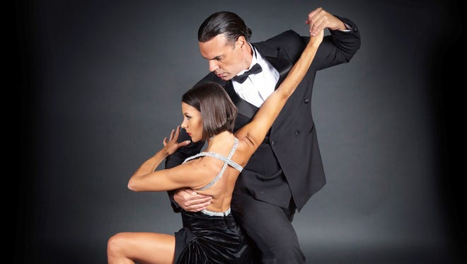 """Junior"" Cervila and Guadalupe Garcia, considered the world's greatest Argentine Tango dancers will perform at Westchester Broadway Theatre's Superstars of Ballroom."