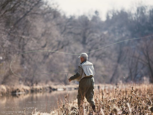 Passion for fly fishing leads craig ritland across iowa for Bear creek fishing