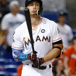 Giancarlo Stanton is one big name entering baseball's Winter Meetings