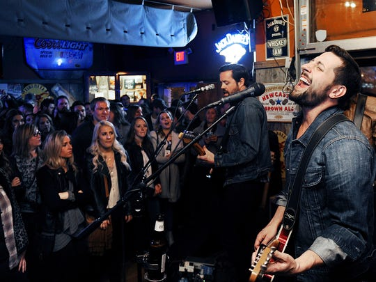 Matthew Ramsey of Nashville band Old Dominion sings