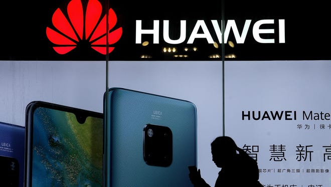 China fired back Monday amid U.S. pressure on Huawei.