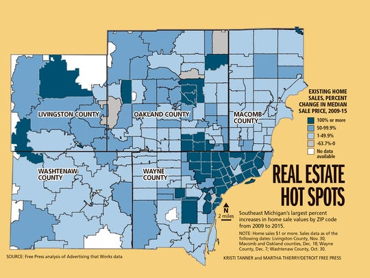 Real estate hot spots