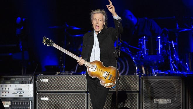 Sir Paul McCartney performs Oct. 12, 2018, at the Austin City Limits Music Festival. It's hard to argue that a Beatle headlining is not an all-time highlight.