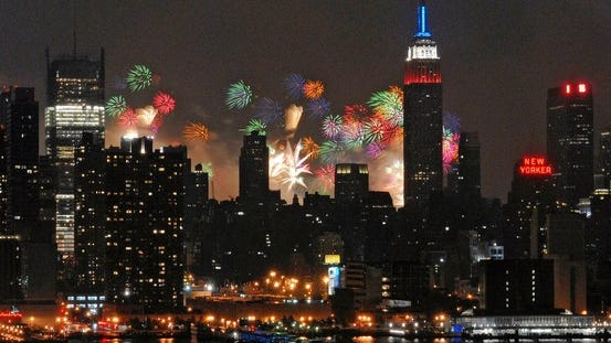 Manhattan Fireworks