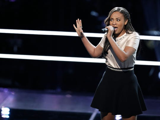 """Abbeville's Koryn Hawthorne has advanced to the top five of """"The Voice,"""" the singing competition on NBC. Hawthorne wowed judges and viewers with performances of """"Everybody Hurts"""" by R.E.M. and the Aerosmith classic, """"Dream On."""""""