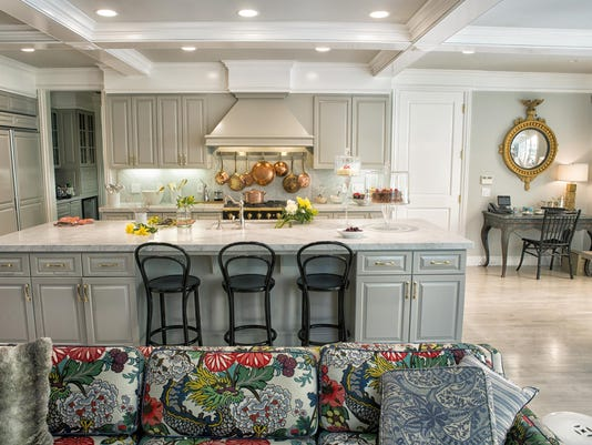 For Your Home: Don't be afraid to mix metals in the kitchen