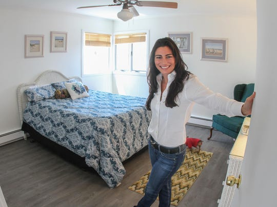 Tobi Petrocelli, who owns Casa Del Mar in Point Pleasant Beach, uses Airbnb to help book some of the rooms she rents.