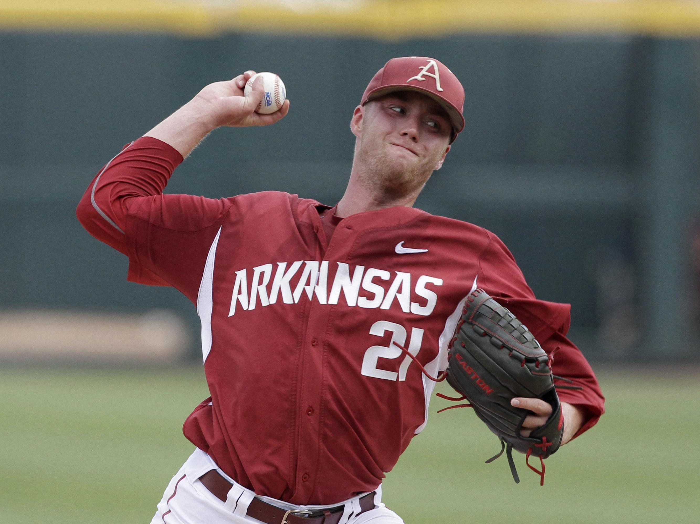 Trey Killian wasn't lights out, but the Mountain Home High grad was more than good enough, allowing three runs over six innings as Arkansas walloped No. 8 national seed Missouri State, 18-4, on Friday at jam-packed Baum Stadium to take command of their Super Regional series.