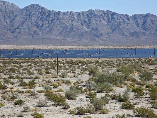 Desert Sunlight solar