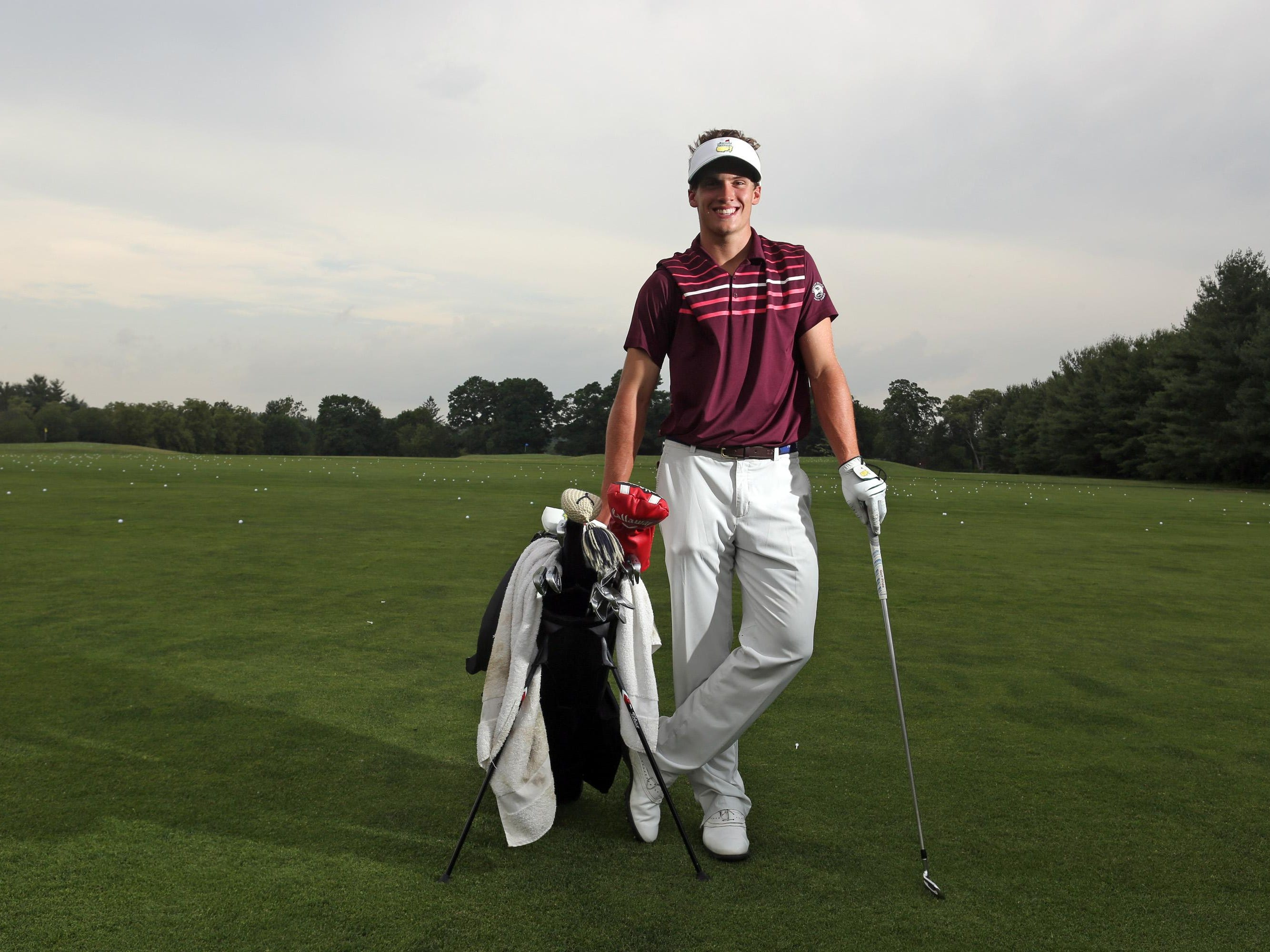 James Nicholas of Scarsdale High School is the Westchester/Putnam golfer of the year. He was photographed June 23, 2015 at Westchester Country Club.