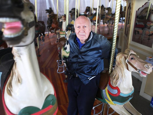 Carousel enthusiast part of Seabreeze family