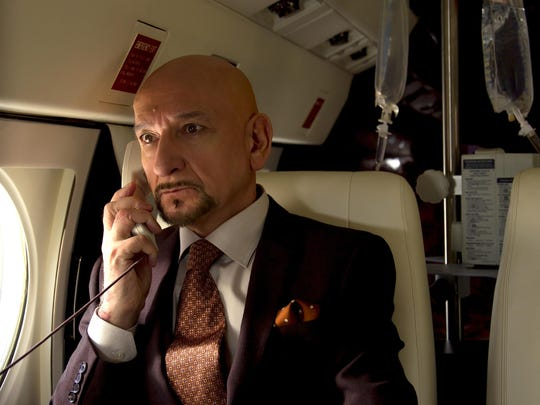 "Academy Award winner Ben Kingsley stars in ""Self/less."""