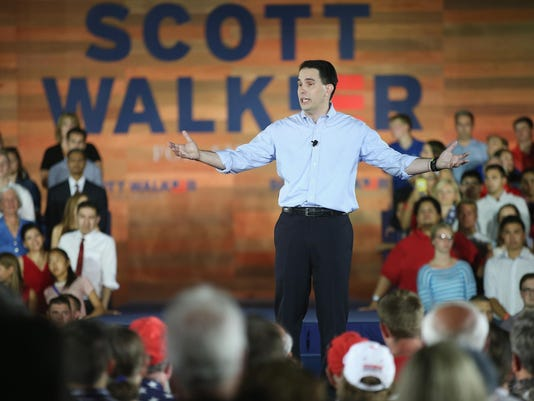 Wisconsin Gov. Scott Walker Announces His Candidacy For President