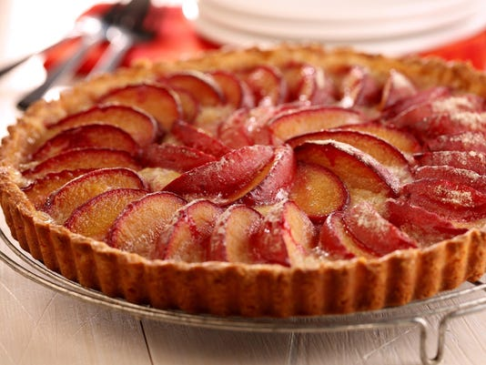 Plum in luck: Juicy plum tart is even better with almond flour