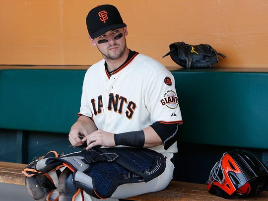 Giants' backup catcher Andrew Susac could add depth to a position that is weak in the Phillies organization.