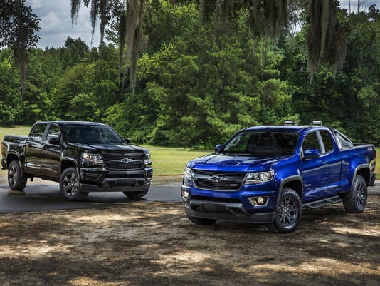 Chevy Offers 2 Special Editions For 16 Colorado