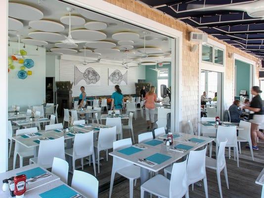 Avon Pavilion dining room