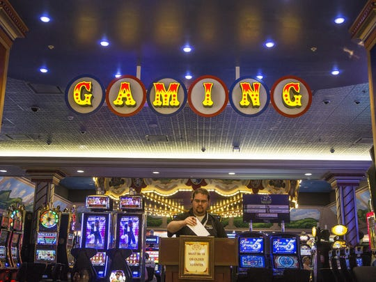 Tioga Down is lowering the number of slot machines on its gaming floor.