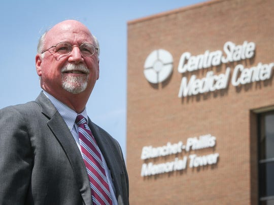 John Gribbon, CEO of CentraState Medical Center, said he has no plans to merge the Freehold Township hospital with larger rivals.